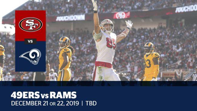 Week 16: 49ers vs. Rams