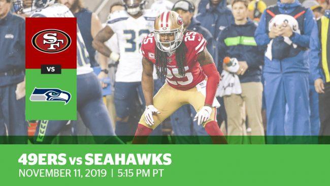 Week 10: 49ers vs. Seahawks