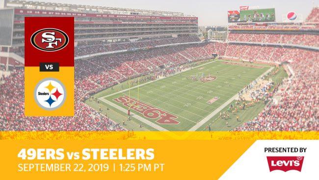 Week 3: 49ers vs. Steelers