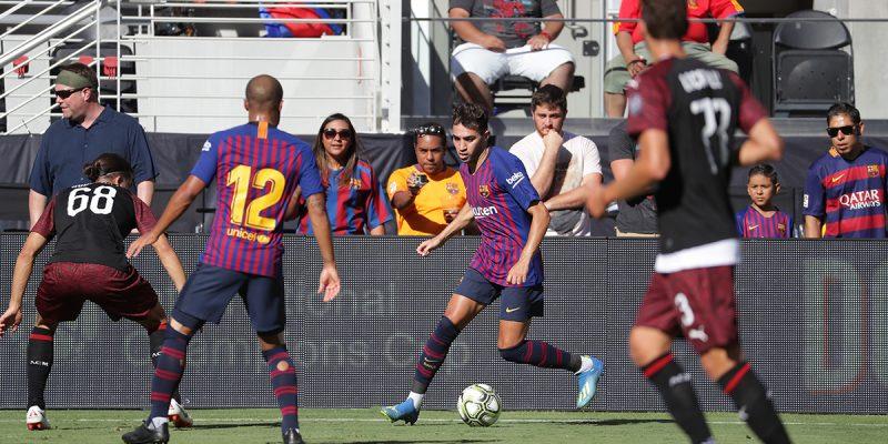 AC. Milan vs. Barcelona