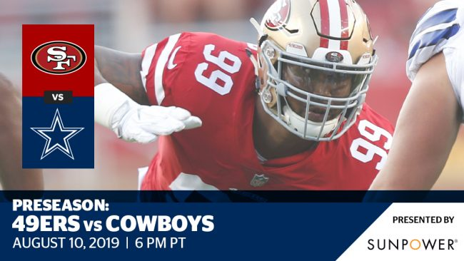 49ers vs  Cowboys - Preseason Week 1 - Levi's® Stadium