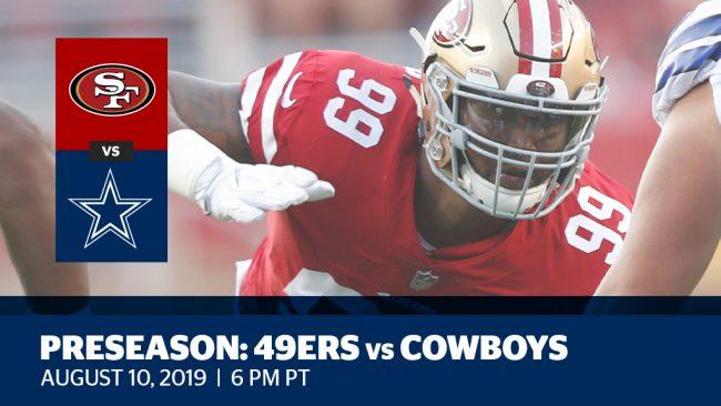 Preseason Week 1: 49ers vs. Cowboys
