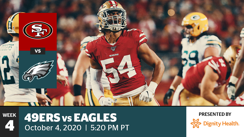 49ers vs. Eagles - Levi's® Stadium
